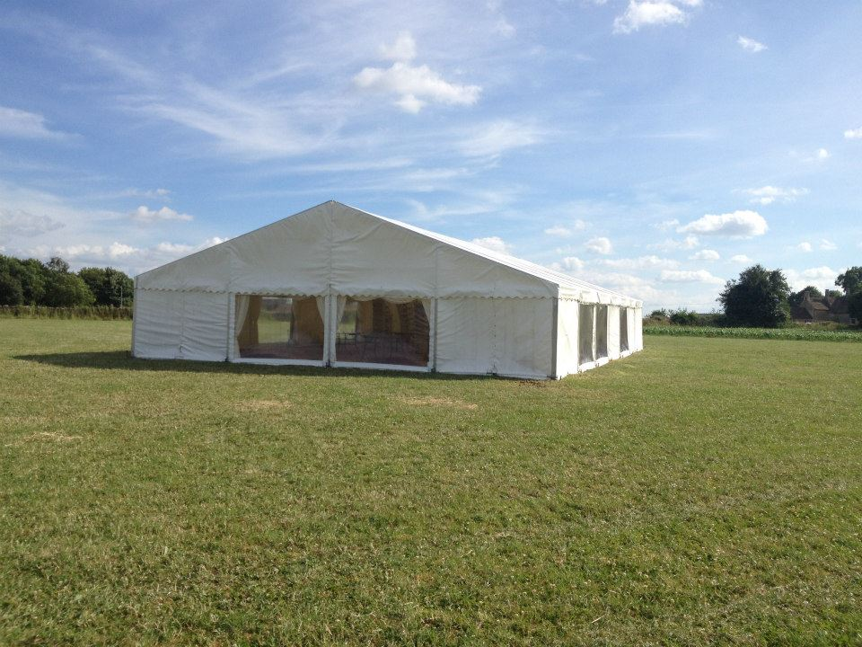 marquee hire in calne