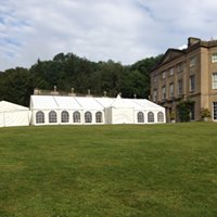 marquee for a wedding