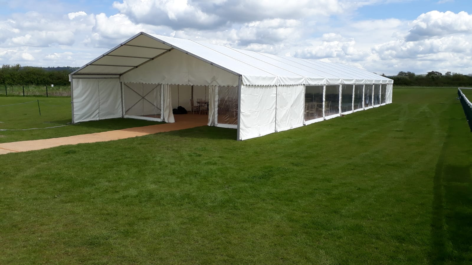 Marquees for Melksham Rugby