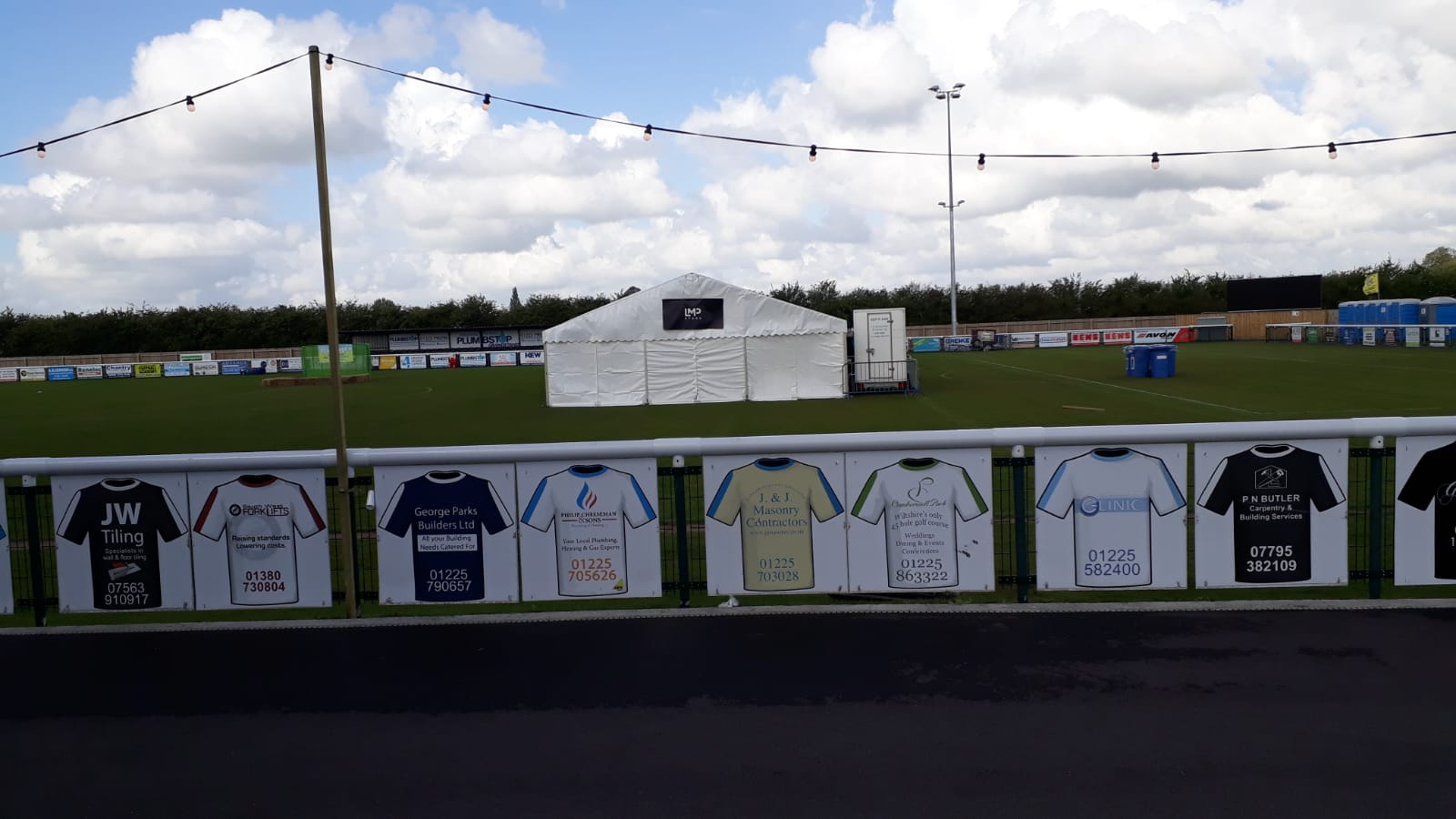 Marquees for Melksham Townfest
