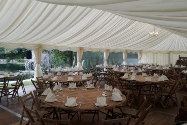 Wedding Marquee in Gloucestershire