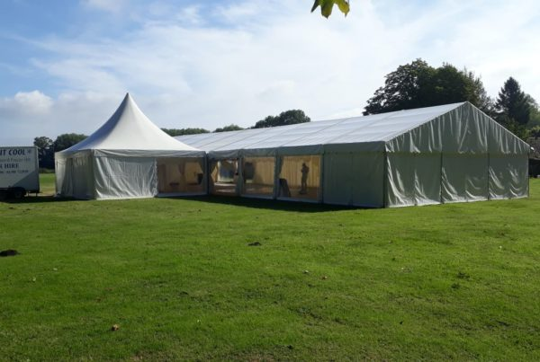 Fully Kitted Marquee for Hire